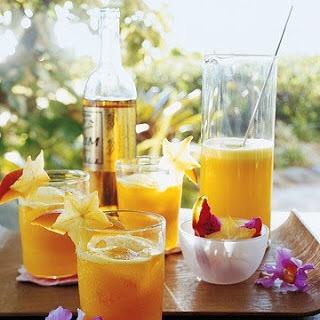 orange fruity cocktail mimosa recipe
