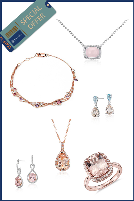 blue nile pink jewelry