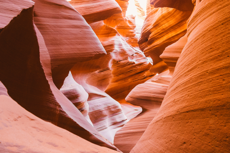 Natural sandstone carving formations