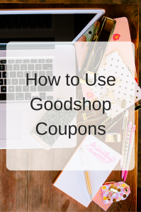 Ask Goodshop: How to Use Goodshop Coupons